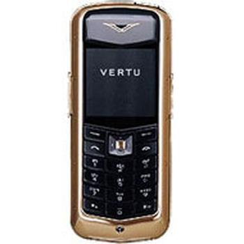 Vertu Constellation Pink Gold 18 ct Black Leather