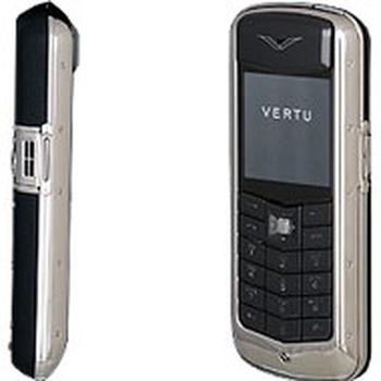 Vertu Constellation Steel Black Leather