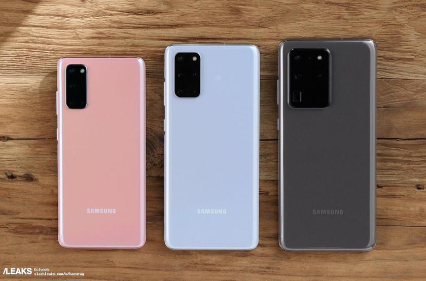 Трейлер, постеры и «живые» фотографии флагманов Samsung Galaxy S20 за считанные часы до презентации