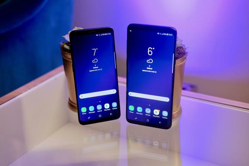 Смартфоны Samsung Galaxy S9 обошли iPhone X и стали самыми продаваемыми в мире