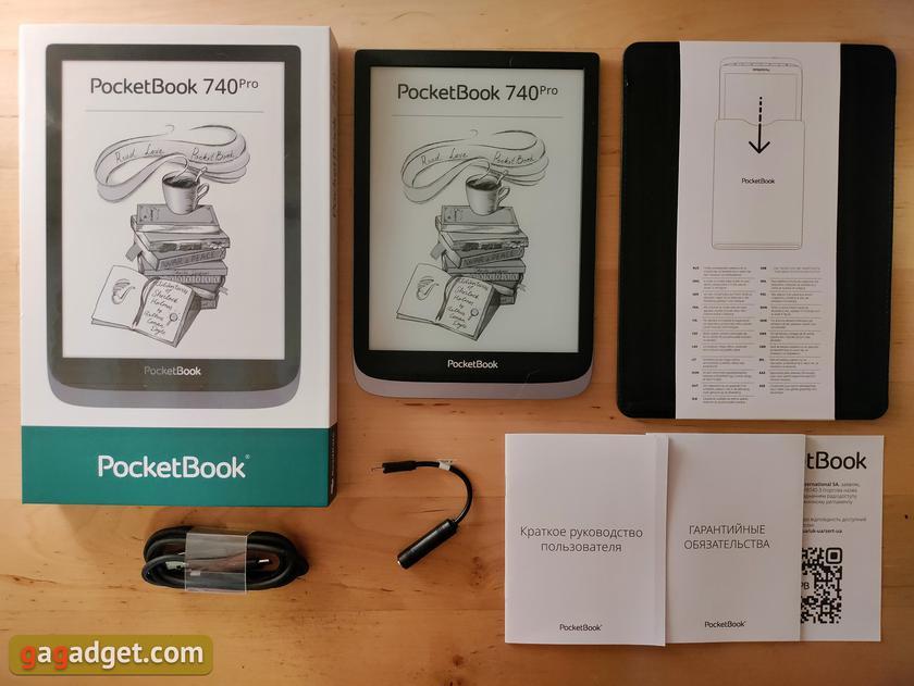Обзор Pocketbook 740 Pro: защищённый ридер с поддержкой аудио-2