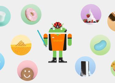 Самая подробная история Android: от Astro Boy до Pie