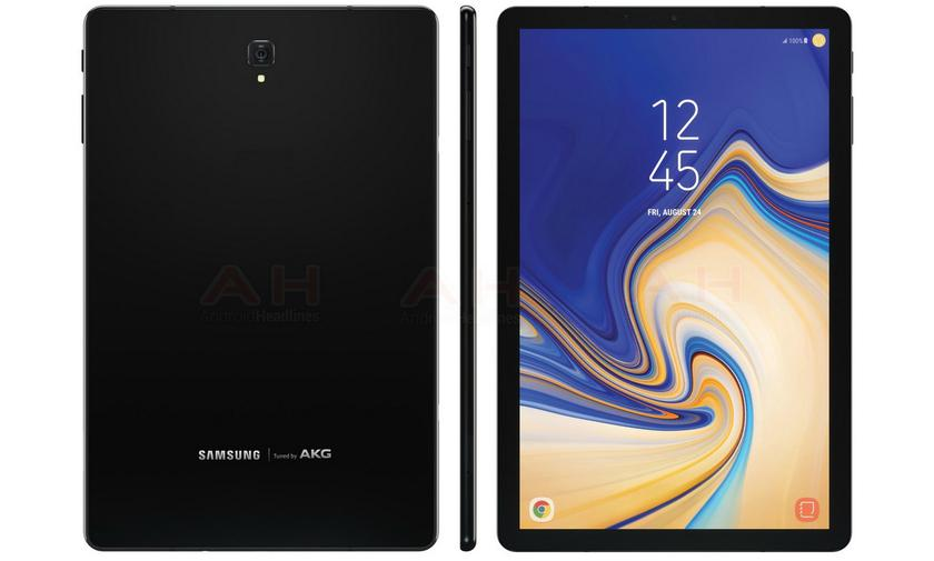 Планшет Samsung Galaxy Tab S4 показался на видео в двух цветах