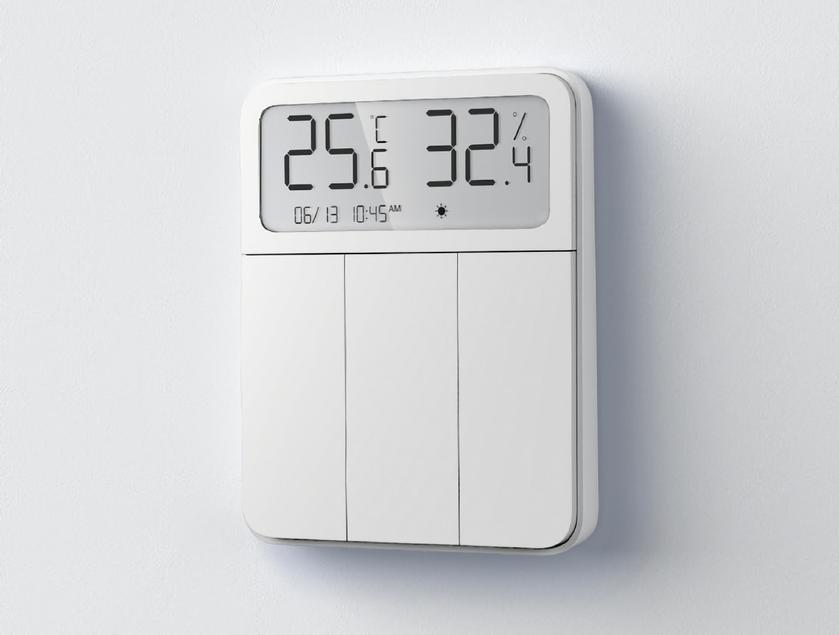 Xiaomi представила термостат MiJia со встроенным умным выключателем