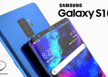 Samsung Galaxy S10 will receive a new display with a built-in fingerprint scanner
