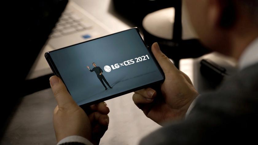 CES 2021: LG показала растягивающийся смартфон