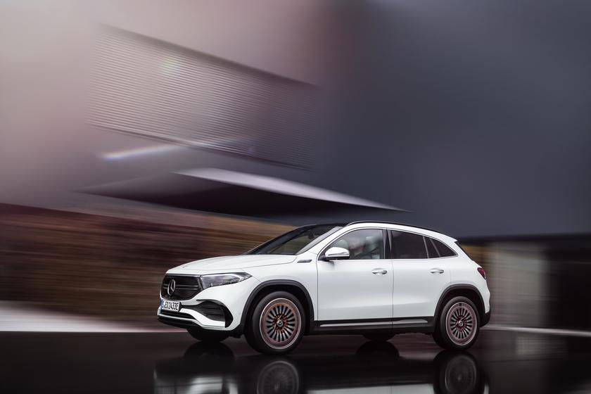 Mercedes-Benz EQA: электрический кроссовер на основе GLA с запасом хода 486 км и ценником в 47 540 евро