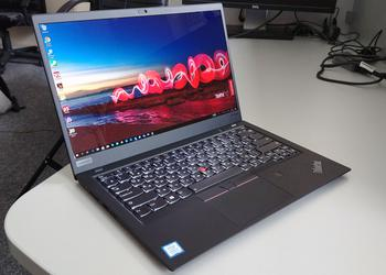 Обзор Lenovo ThinkPad X1 Carbon 6th Gen: топовый бизнес-ультрабук с HDR-экраном