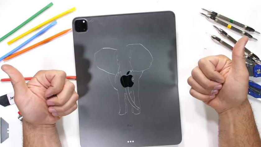 Новый iPad Pro по-прежнему гнется и царапается, но не ломается пополам
