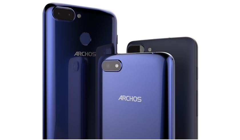 Archos introduced three budget smartphones Core 55S, Core 57S and Core 60S