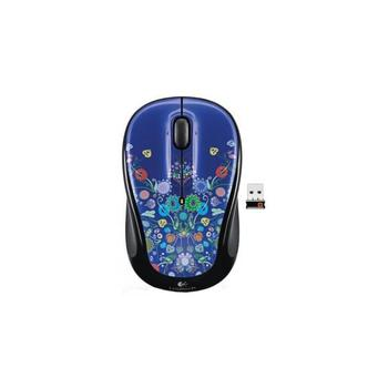 Logitech Wireless Mouse M325 nature jewelry Blue-Black USB