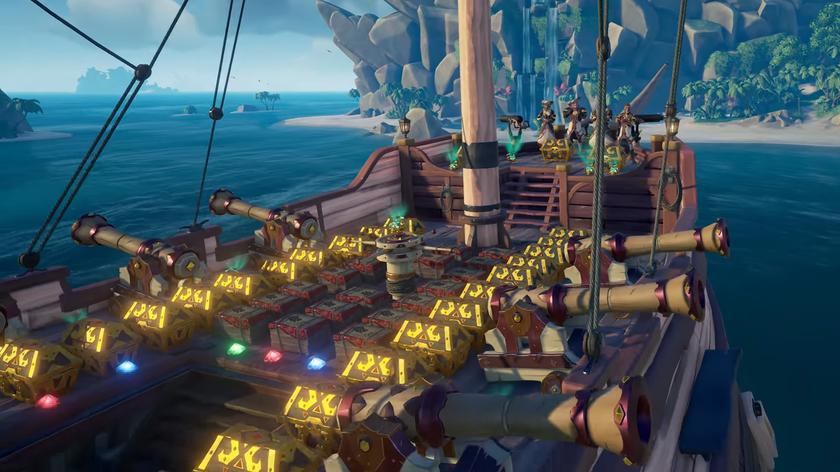 Обновление «Легенды моря» для Sea ofThieves озолотит игроков, которые небоятся приключений