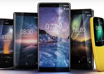 "HMD Global introduced the revived Nokia 8 Sirocco, the disorderless Nokia 7 Plus and the ""banana"" from the ""Matrix"""