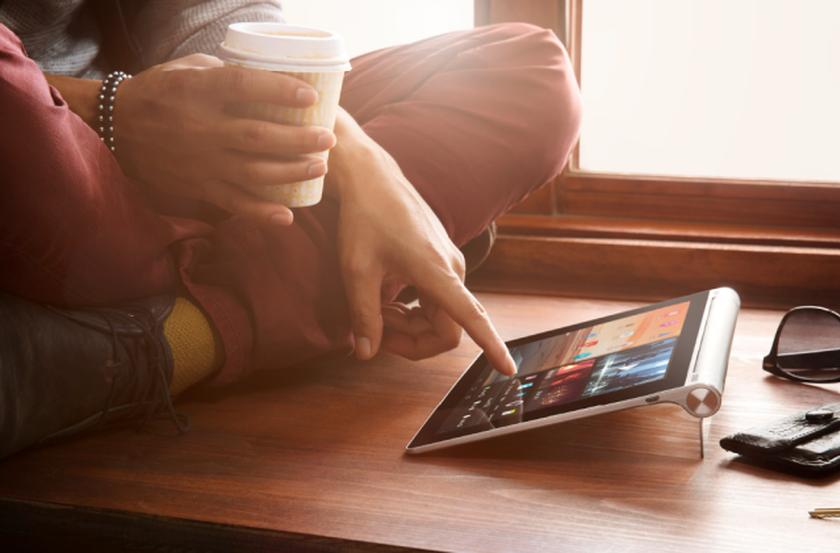 Планшеты Lenovo Yoga Tablet 8 и Yoga Tablet 10 поступили в продажу по цене 2888 и 3200 грн соответсвенно