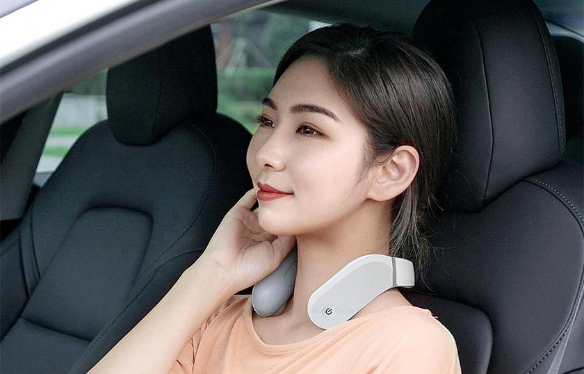 Xiaomi Jeeback G2: умный шейный массажёр с эффектом горячего компресса