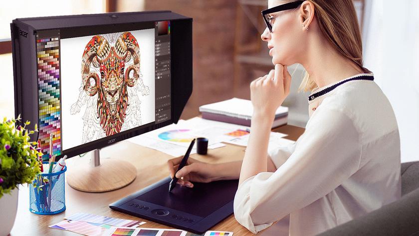 Какой монитор лучше для глаз: разбираемся с технологиями защиты зрения Acer-9