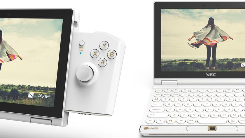Lenovo представила LAVIE MINI: мобильный ПКнаIntel Core i7 с8-дюймовым дисплеем для игры иработы