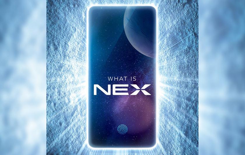 Безрамочный смартфон Vivo NEX с выдвижной камерой выйдет 12 июня