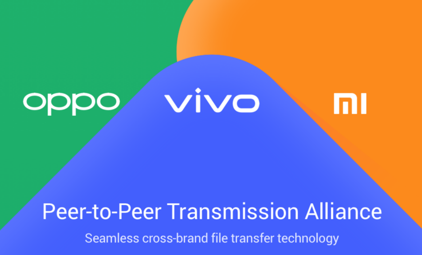 AirDrop для Android: Vivo, Oppo иXiaomi создали свою систему беспроводного обмена файлами