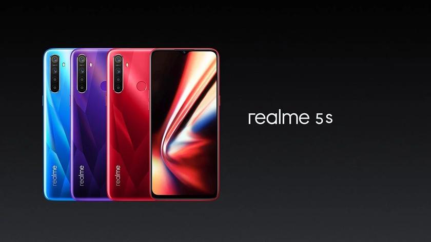 Realme 5s: смартфон с 48 МП камерой и батареей на 5000 мАч всего за $139