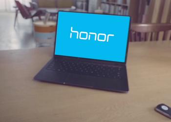 Huawei tizerit laptop Honor MagicBook. The announcement is coming soon