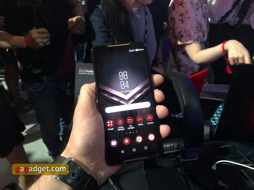 Computex 2018: ROG Phone и остальные игровые новинки ASUS своими глазами-35