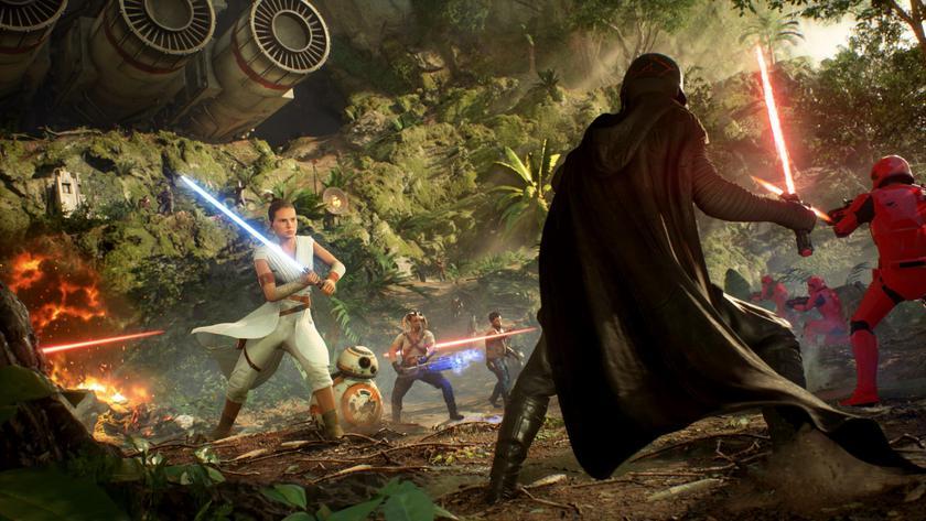 ВEpic Games Store раздают лучшее издание Star Wars Battlefront 2 для ПК