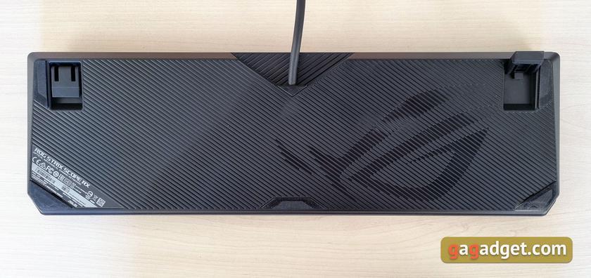 Обзор ASUS ROG Strix Scope RX: оптико-механическая геймерская клавиатура с влагозащитой-12