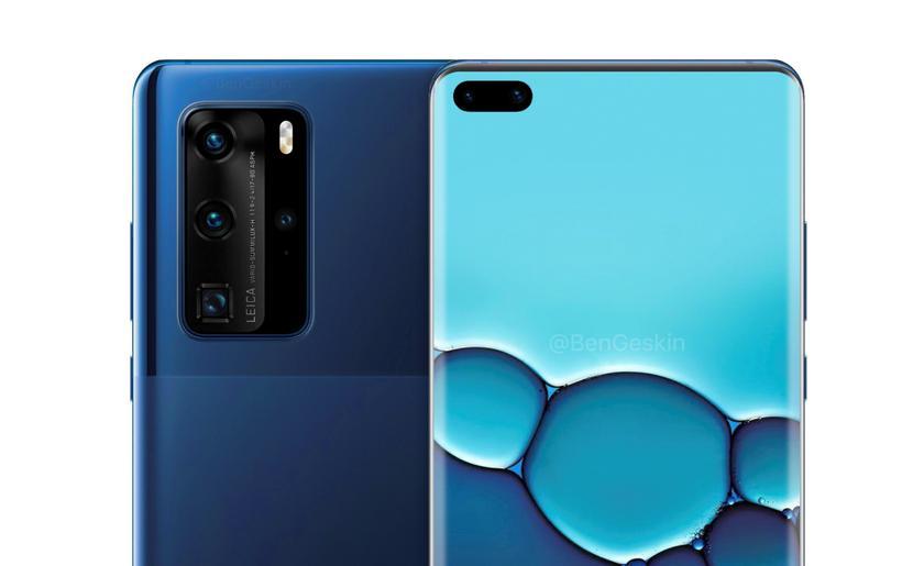 Какие камеры получат флагманы Huawei P40 и Huawei P40 Pro
