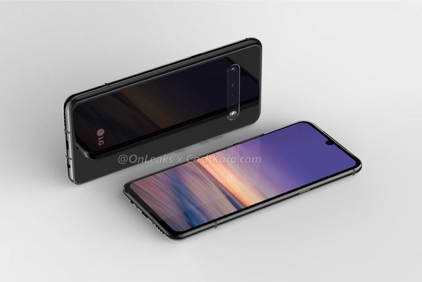 LG V60 ThinQ появился на рекламном изображении: квадро-камера, аккумулятор на 5000 мАч и разъём для наушников