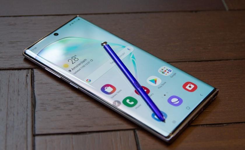 Galaxy Note 10 Lite «засветился» на официальном сайте Samsung