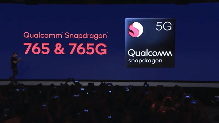 Snapdragon 765 и Snapdragon 765G: 7-нанометровые среднебюджетные чипы Qualcomm со встроенным 5G-модемом