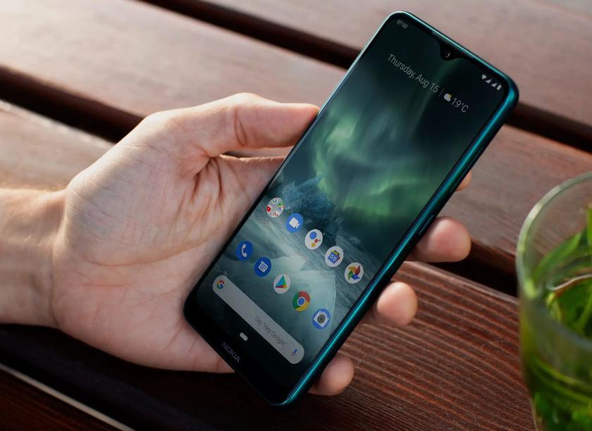 Nokia 5.3 появилась на новом «живом» снимке с квадро-камерой и зелёной расцветкой