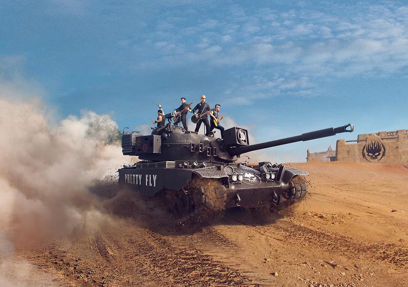 Специально для читателей gg, играющих в World of Tanks: розыгрыш 4 комплектов танка TL-1 LPC в стиле «Pretty Fly» в честь выхода альбома The Offspring