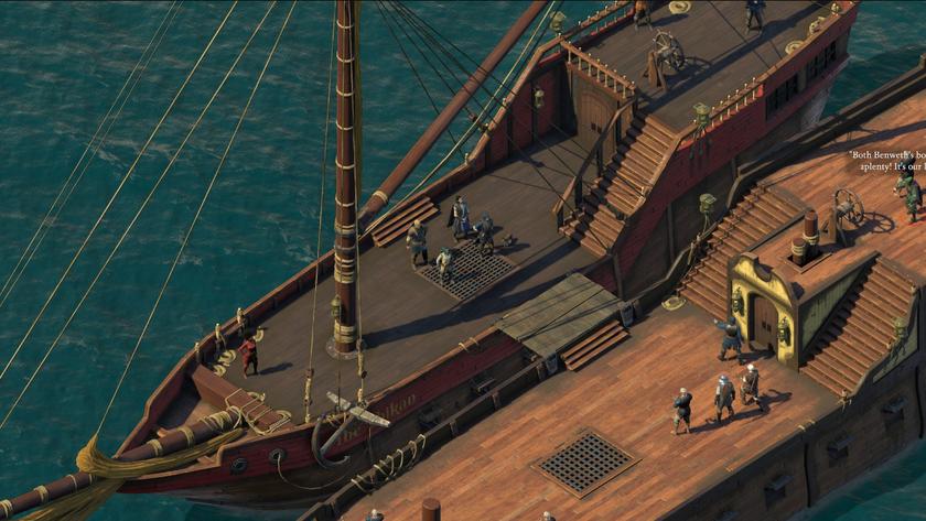Бесплатное DLC для Pillars ofEternity 2 добавляет членов команды и улучшения для корабля