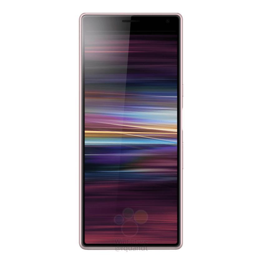 Вот так выглядит Sony Xperia XA3 (Ultra) с экраном 21:9 и двойной камерой-12