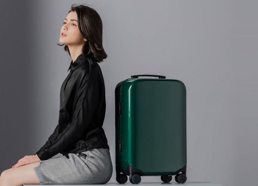 Xiaomi 90 Minutes Smart Unlock Suitcase: смарт-чемодан с дактилоскопическим датчиком