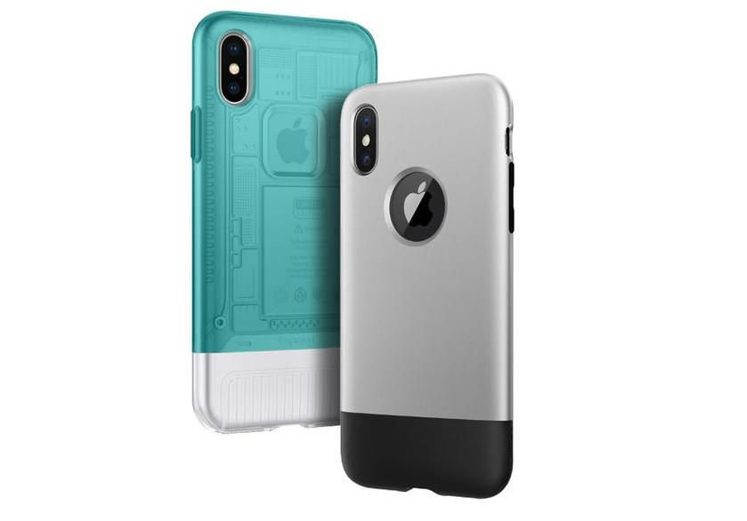 Spigen cases for iPhone X are made in the style of the first iMac and the first iPhone