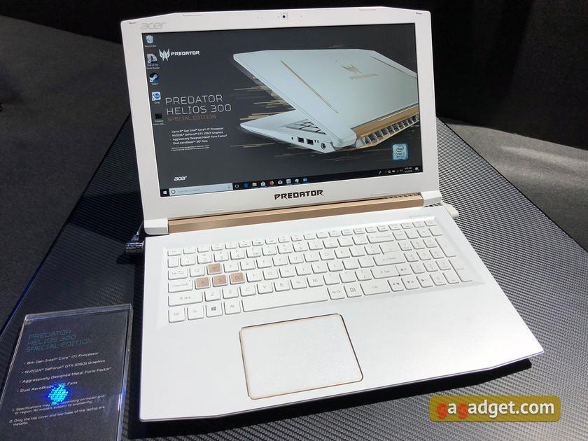 Computex 2018: новые игровые ноутбуки и системные блоки Acer своими глазами-3