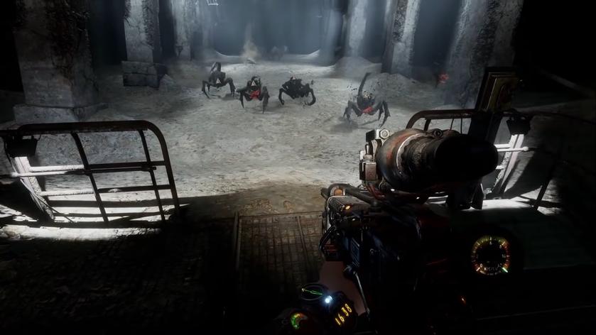 Теперь инеженки поиграют: 4A Games выпустит специальную версию Metro Exodus для арахнофобов