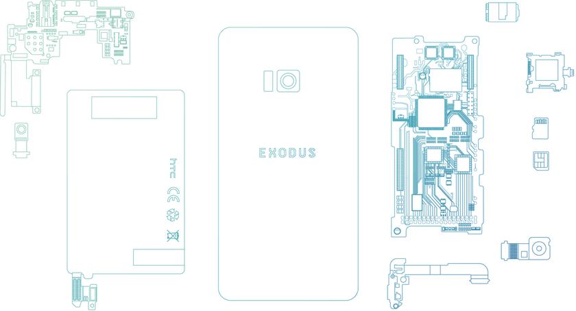 Официально: блокчейн-смартфон HTC Exodus представят осенью