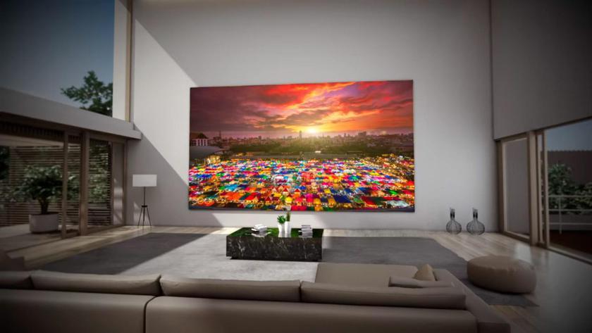 Samsung готовит полностью беспроводной телевизор