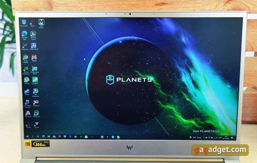 Обзор Acer Predator Triton 300 SE: игровой хищник размером с ультрабук-21