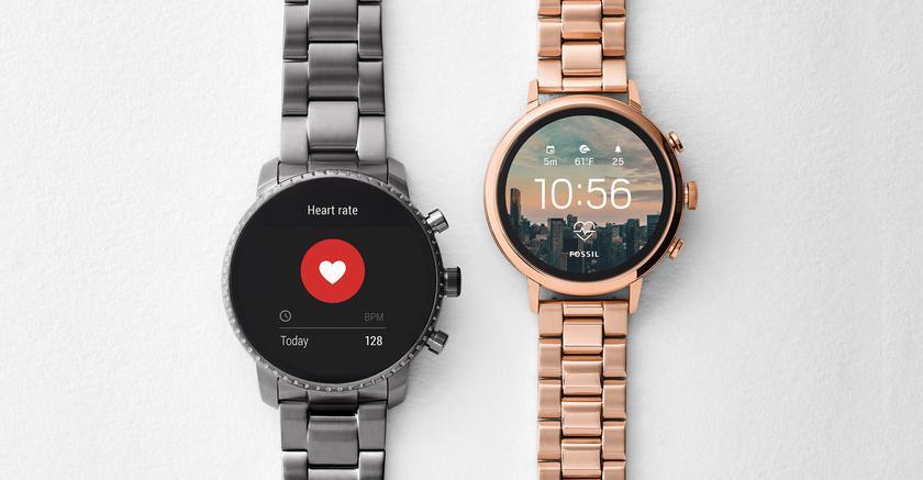 Fossil представила смарт-часы Q Venture HR и Q Explorist HR