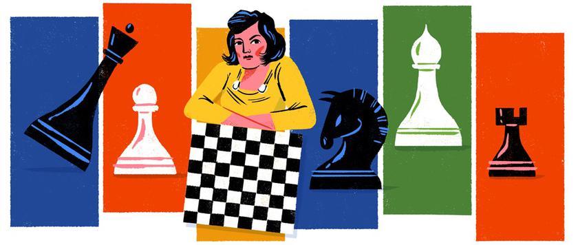 Дудл Google празднует 114 лет со дня рождения Людмилы Руденко