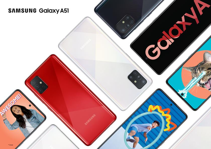 Дороже Galaxy A50: инсайдер рассказал сколько будет стоить Samsung Galaxy A51 в Европе