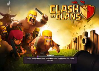 Игры для iPad: Clash of Clans