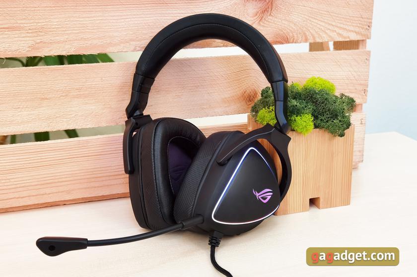 Обзор ASUS ROG Delta S: универсальная геймерская гарнитура с Hi-Res звуком и шумоподавлением