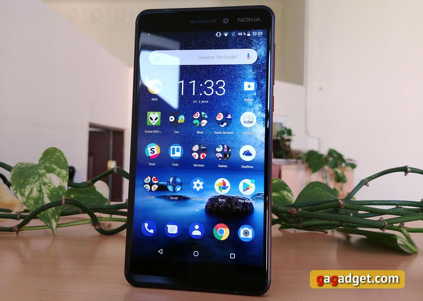 Review Of Nokia 6 1 2018 Stylish And Inexpensive Gagadget Com