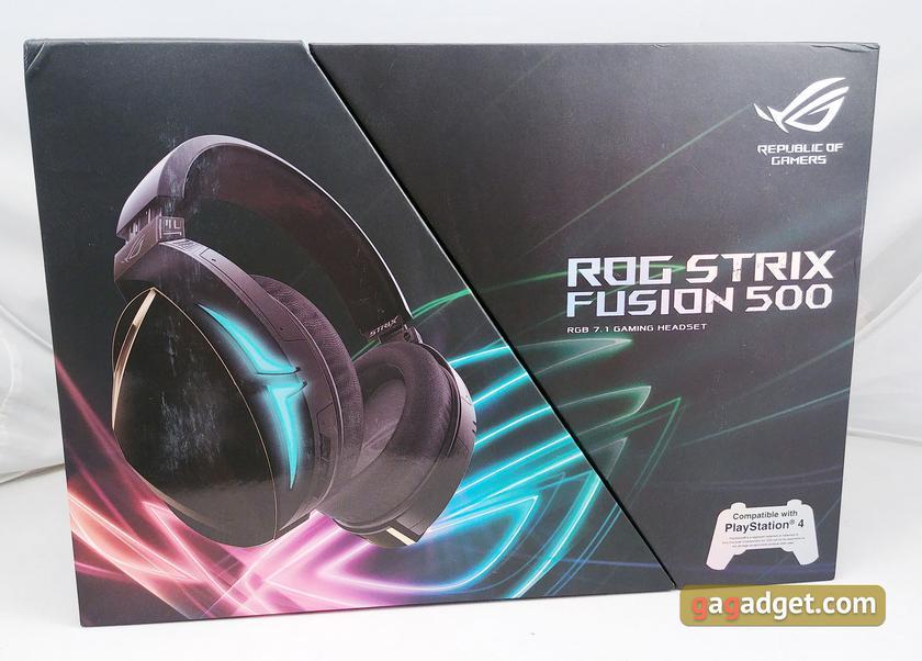 Обзор ASUS ROG Strix Fusion 500: геймерская гарнитура с качественным ЦАПом и виртуальным 7.1-2